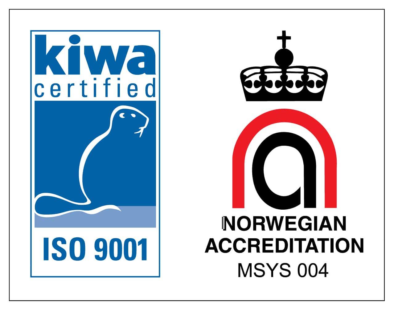 ISO seritfisering